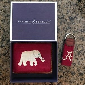 Smathers and Branson Alabama Wallet and Key Fob